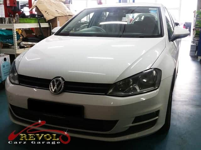 Engine misfiring issue resolved for Volkswagen Golf A7