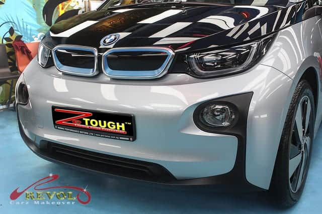 BMW i3 94 AH with ZeTough Ceramic Paint Protection Coating