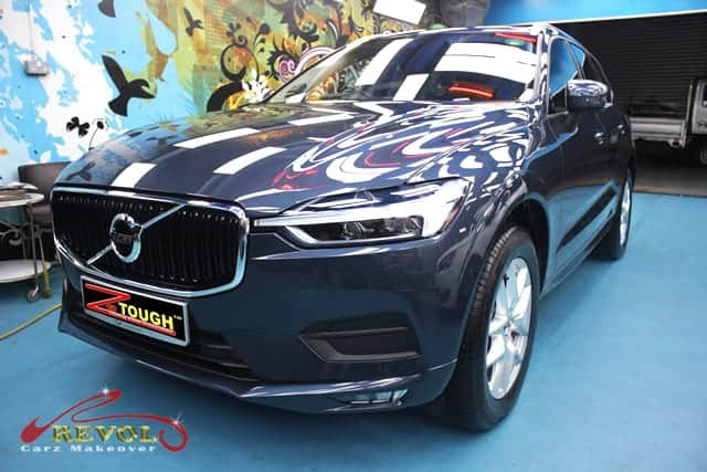 VOLVO XC60 T5 MOMENTUM Coated with ZeTough Paint Protection