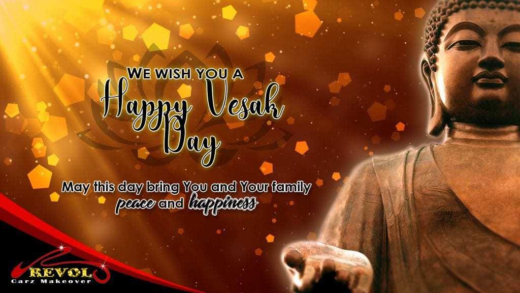 Have a Peaceful Vesak Day Celebration!