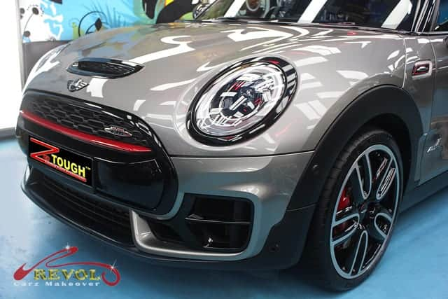 MINI JCW ALL4  in ZeTough Ceramic Paint Protection Coating