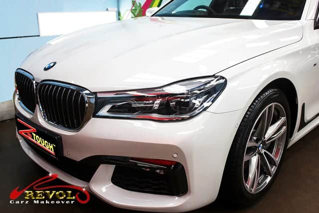 BMW 740Li Now Glossier with ZeTough Ceramic Coating