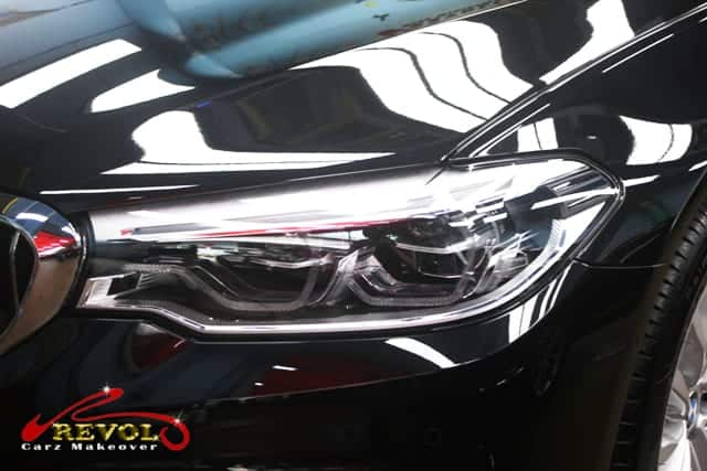 ZeTough Ceramic Paint Protection Coating on BMW 520i