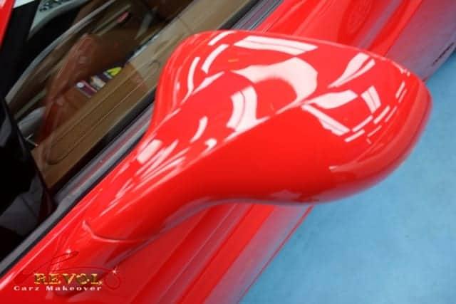 ZeTough Ceramic Paint Protection on FERRARI CALIFORNIA 4.3L