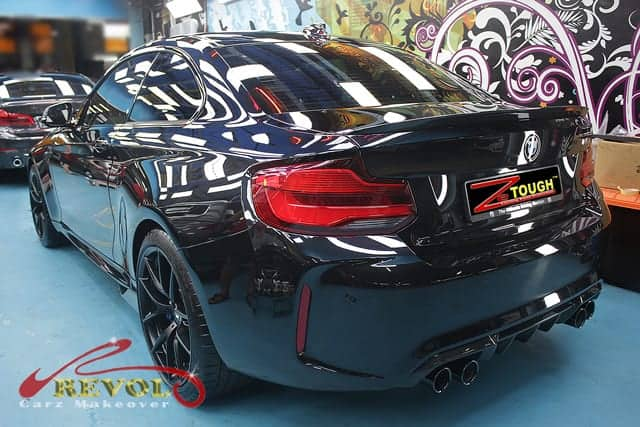 ZeTough  Paint Protection makes BMW M2 2018 more stunning