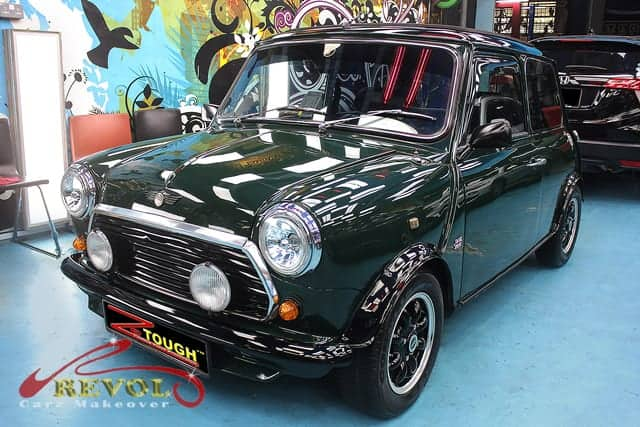 ZeTough Paint Protection on AUSTIN 1000 -Amazing results!
