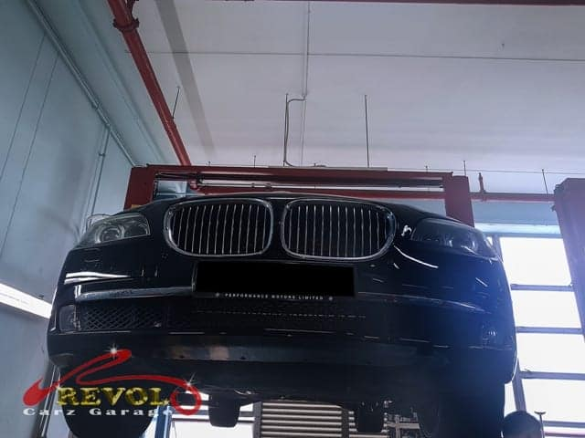 Mechatronic module and battery tray issue of BMW 740Li fixed