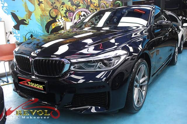 BMW 630i GT with ZeTough Ceramic Paint Protection Coating