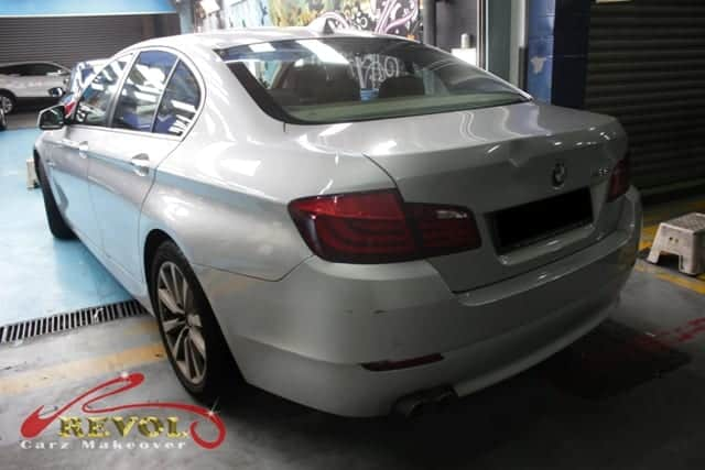 Guaranteed Long-lasting Paint Protection for BMW523i