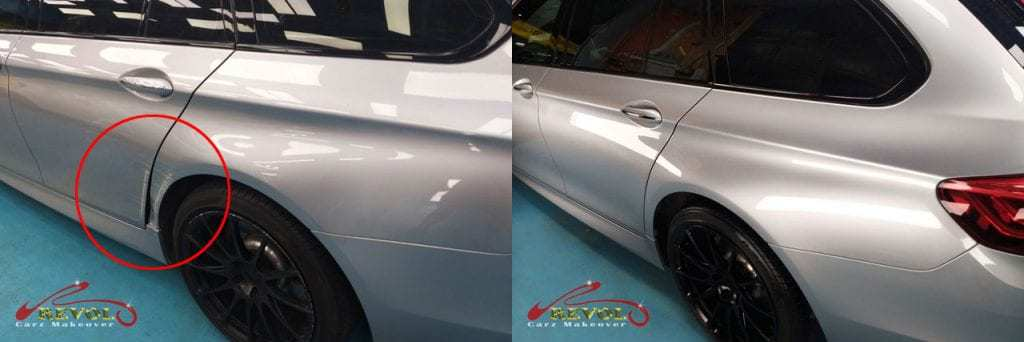 BMW 3 Series Wagon - Before and After
