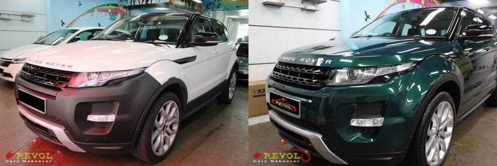 Range Rover Color Change