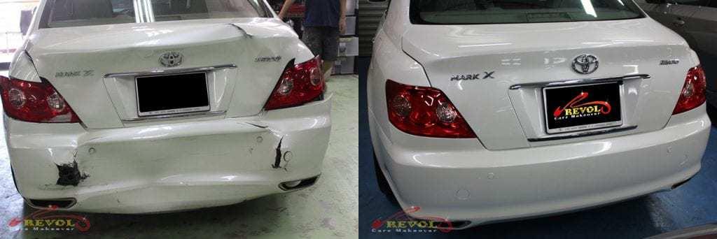 Toyota Mark X Damage