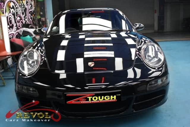 Refreshing Porsche 911 C4S COUPE TIP With A Paint Protection