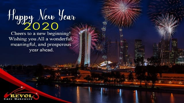 Revol Carz Group Greets You A Prosperous New Year 2020!