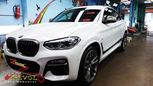ZeTough Titanium Coating on BMW X4 M40I HUD - Rejuvenating!