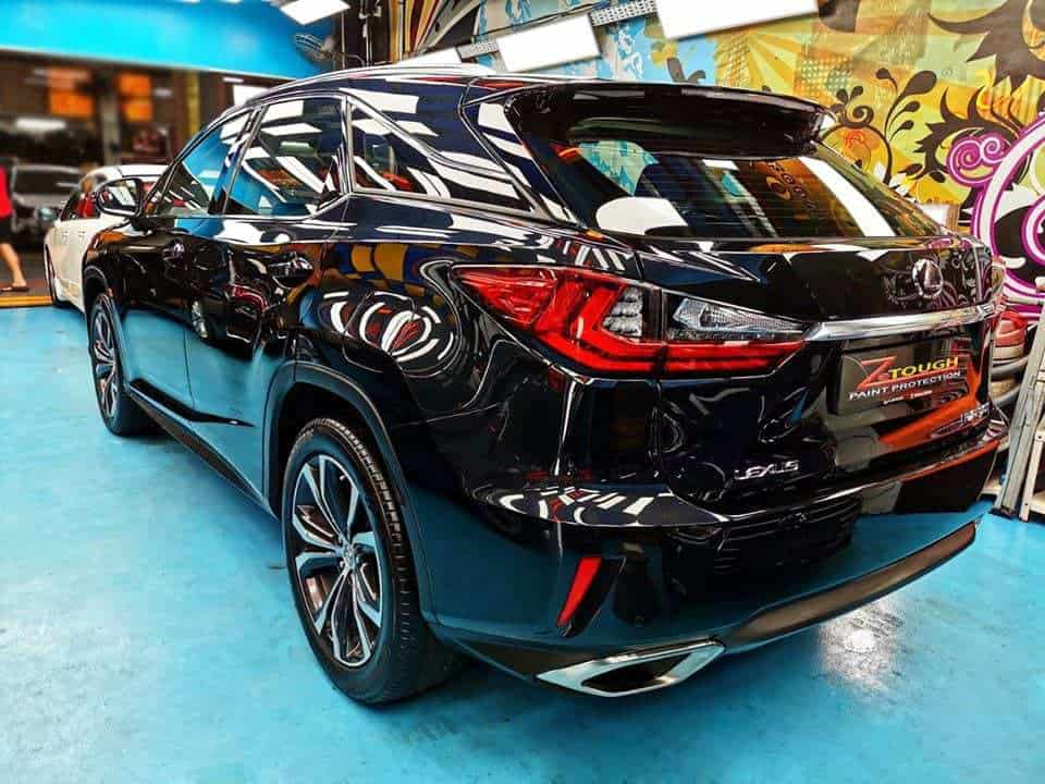 Handsome Lexus RX200t for Grooming