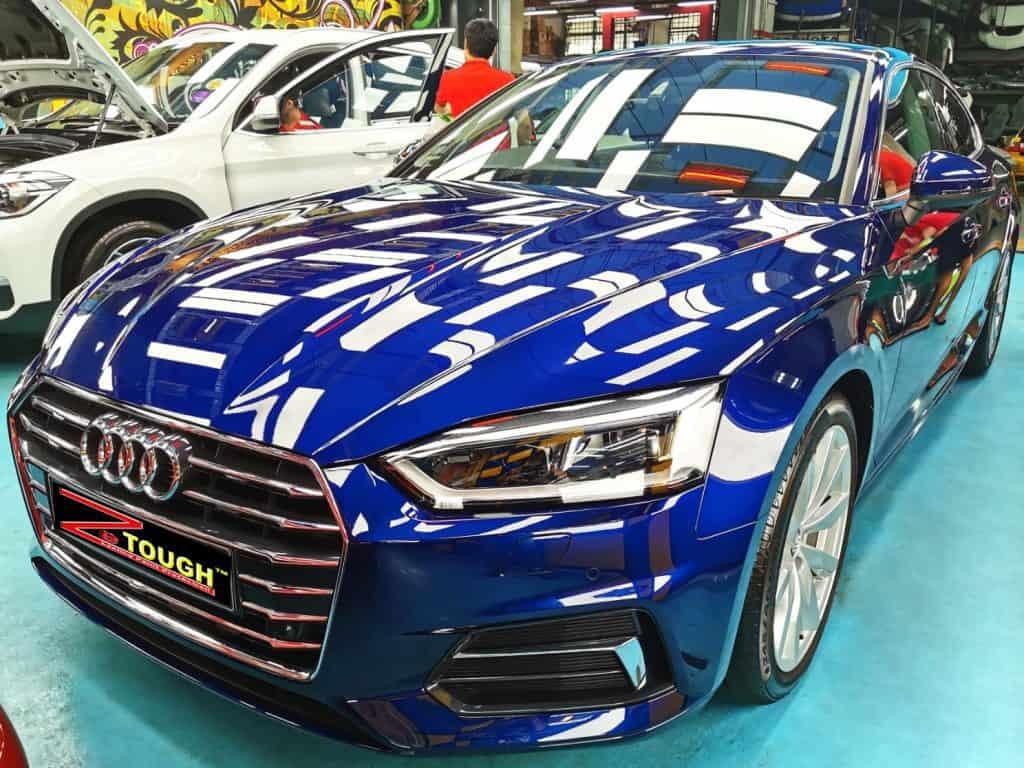 Stunning Blue Audi A5