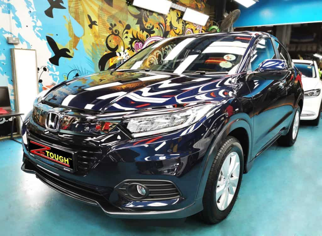 New Ceramic Paint Protection for a Ravishing Honda HR-V
