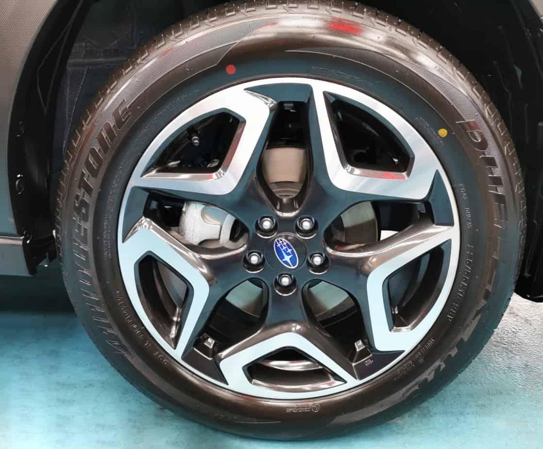 Hunky Subaru XV  - rims