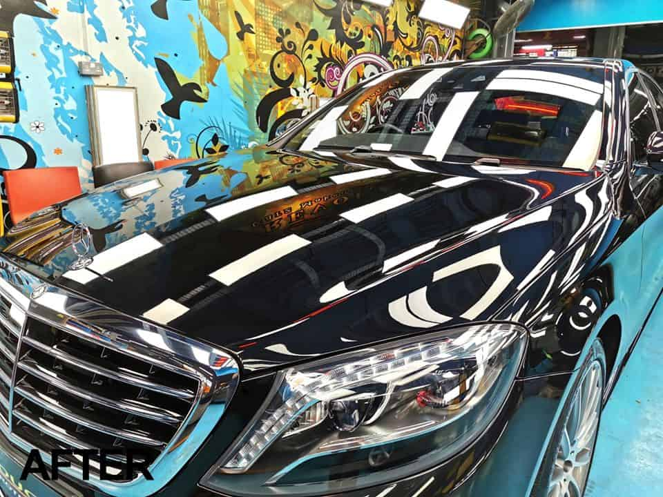 Mercedes Benz S400 Looks Astonishing With Paint Protection