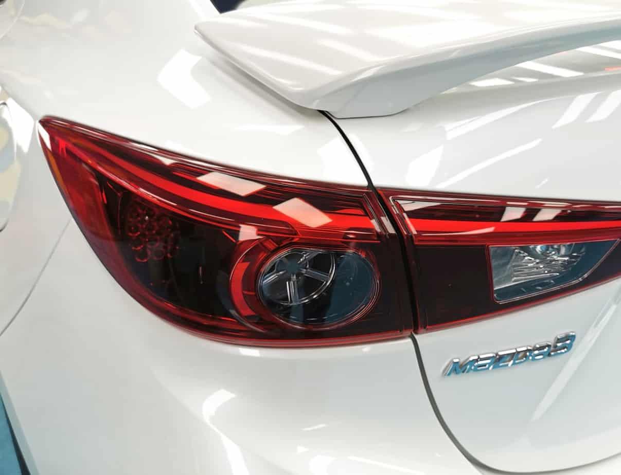 Mazda 3 - taillights