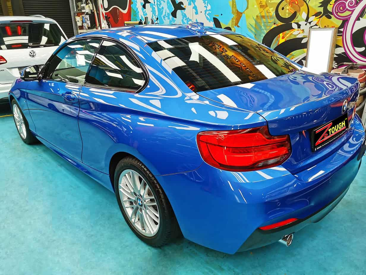 Paint Protection for BMW 218i: Excellent car results