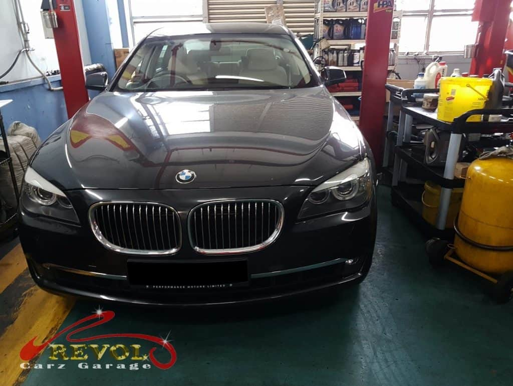 BMW 750i for Rear suspension replacement