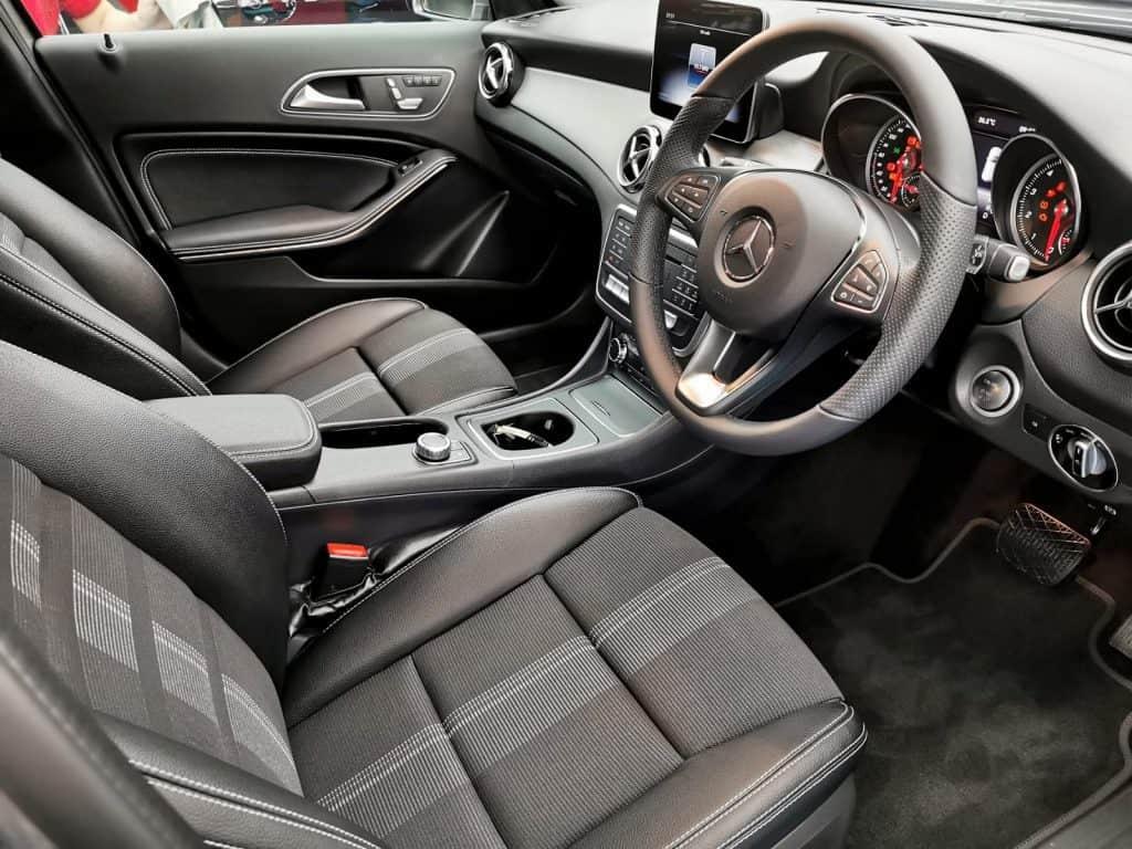 Gorgeous Mercedes Benz GLA180  - interior