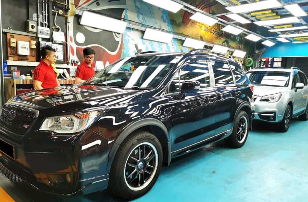 Macho Subaru Forester Models Made New with Paint Protection
