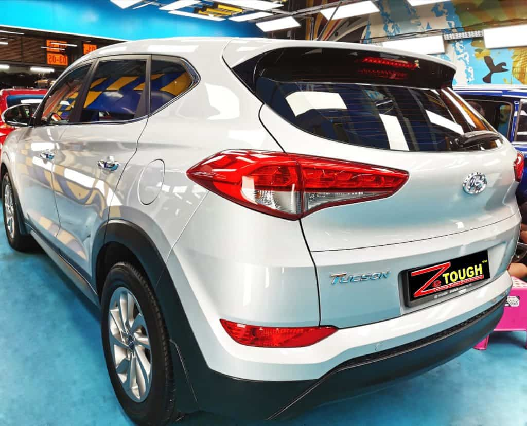 Hyundai TL Tucson Treated With Ceramic Paint Protection