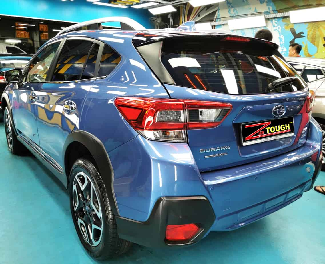 Hunky Subaru XV  - rear