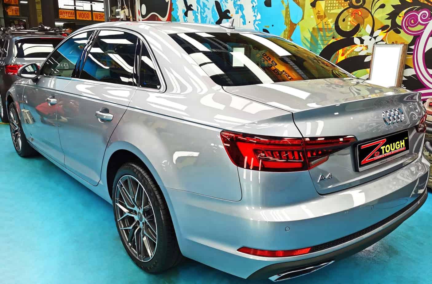An elegant Audi A4 - rear