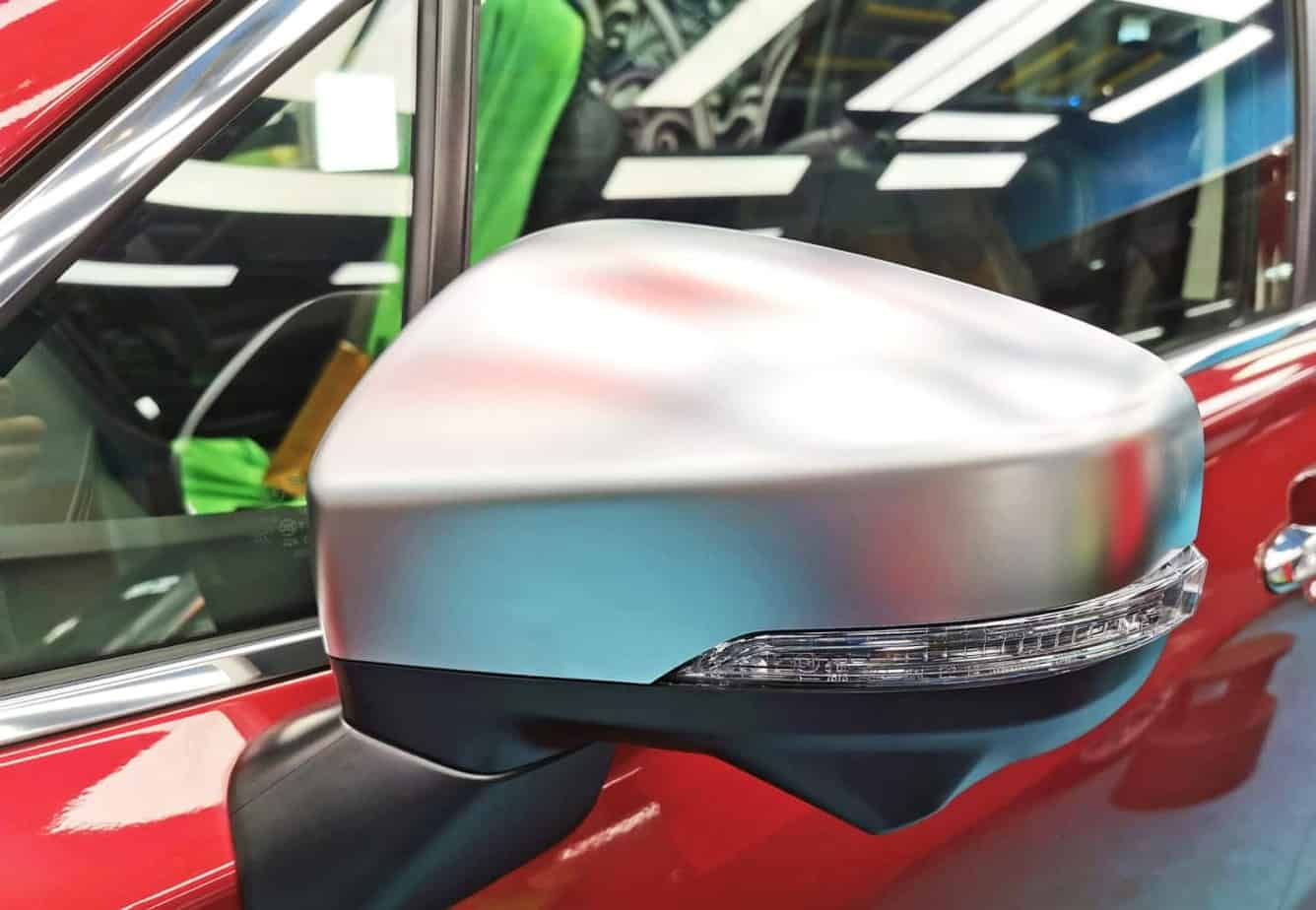 A Subaru Forester - sidemirror