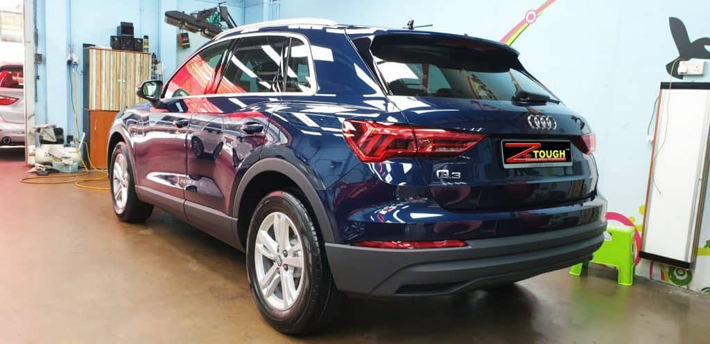 Audi Q3 of Mr. Lim Tried Our  ZeTough Protection Coating