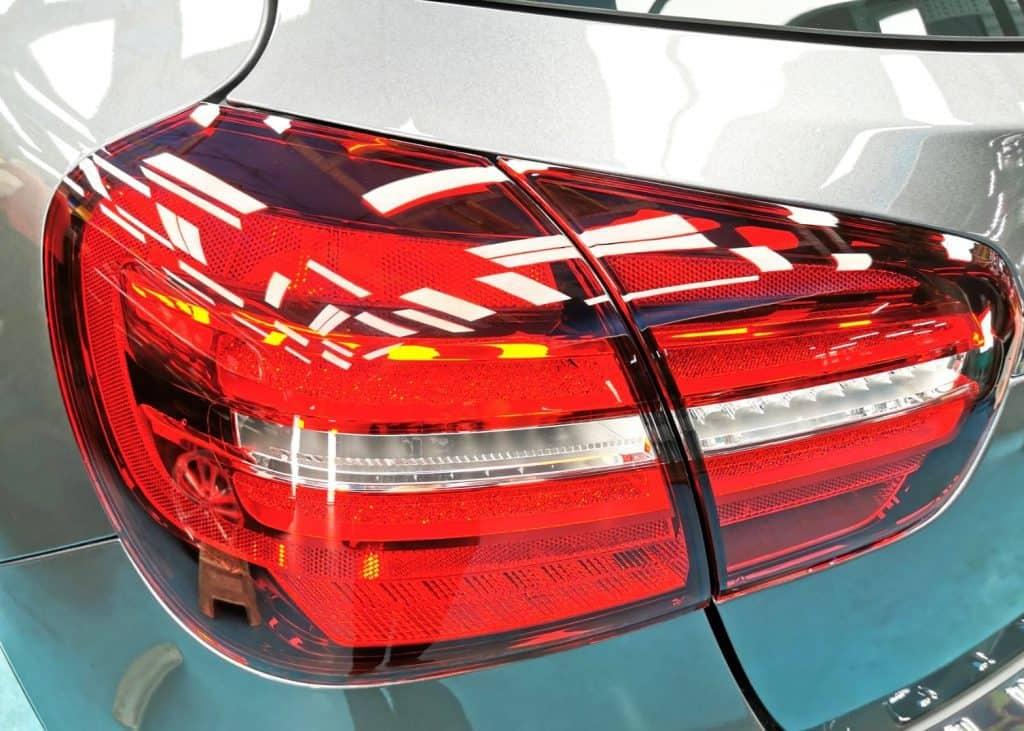 gorgeous Mercedes Benz GLA180 - taillights
