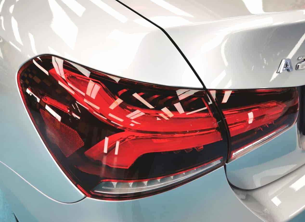 Elegant Mercedes Benz A200  - taillights
