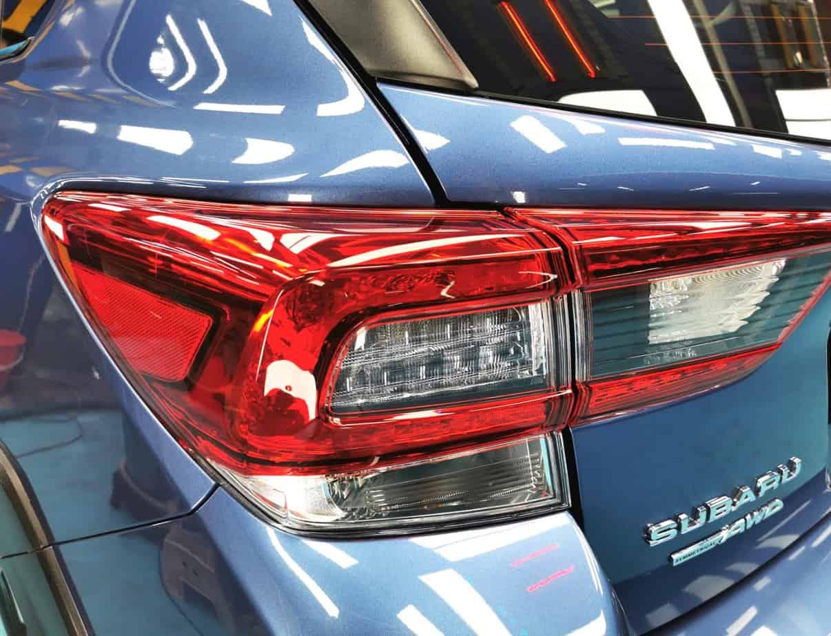 Hunky Subaru XV - headlamp
