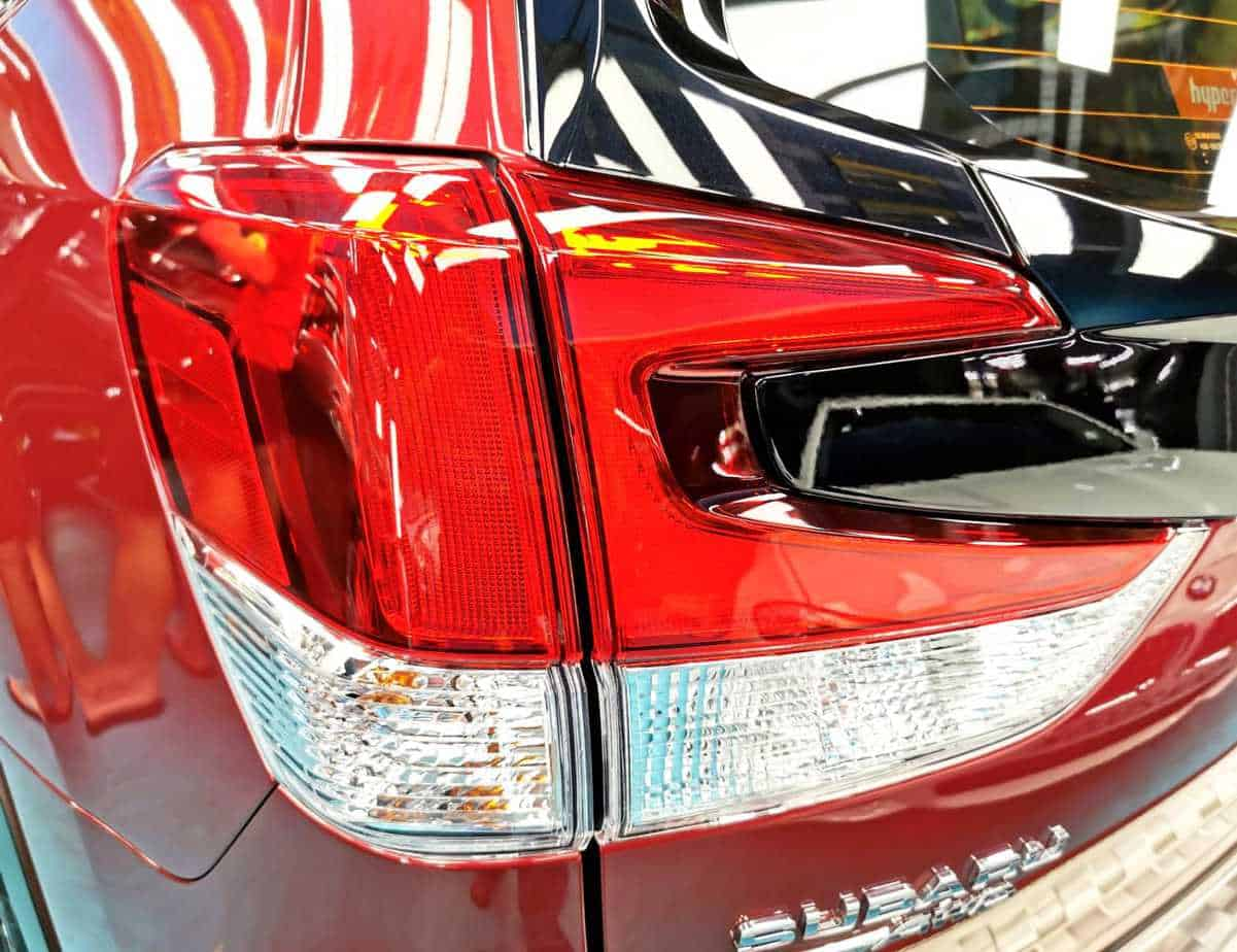 A Subaru Forester - taillights
