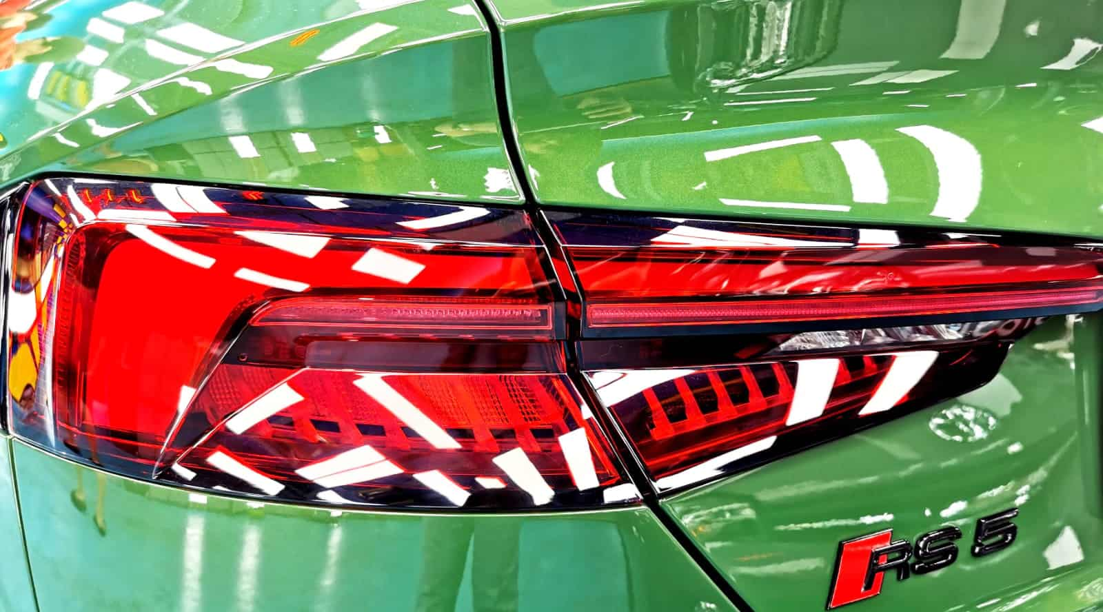 Audi RS5 - taillights