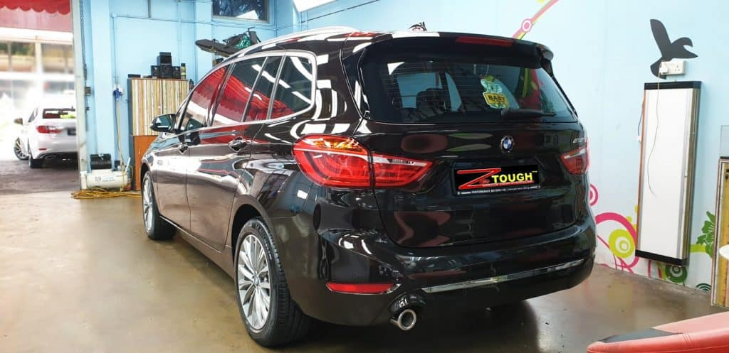 Showroom Condition Using Paint Protection On A BMW 216 GT