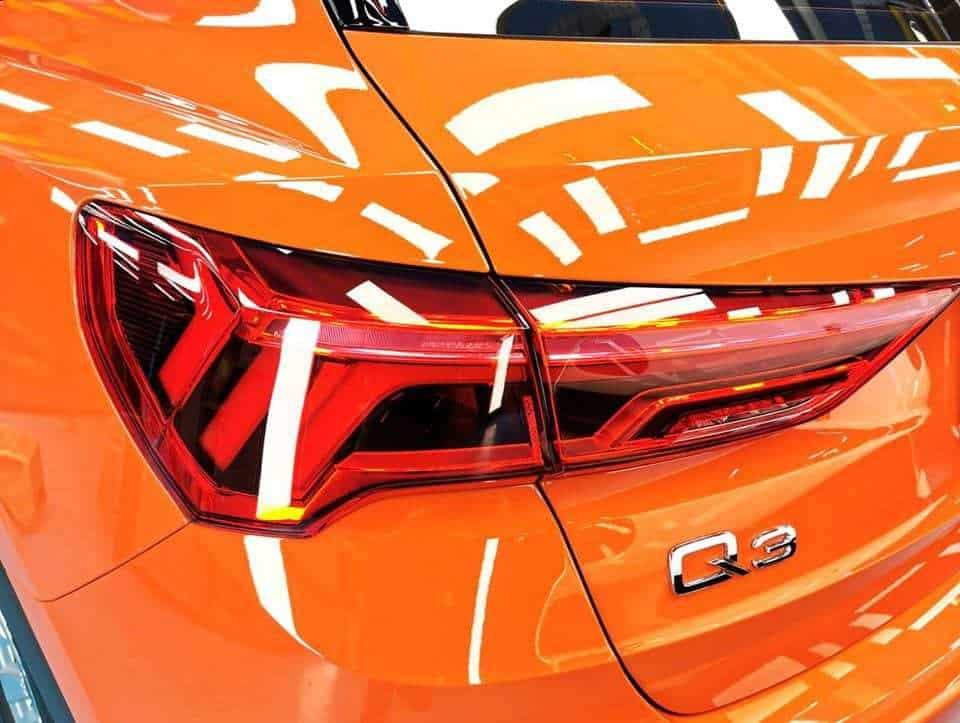 An Audi Q3- rear