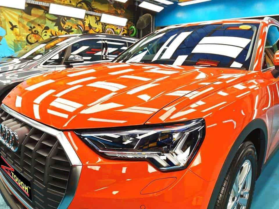 An Audi Q3 - front