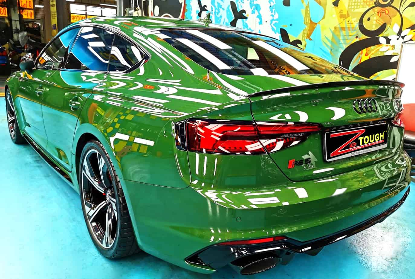 Audi RS5 - rear