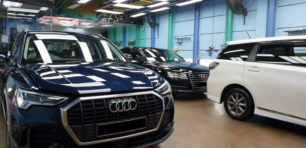 Long-lasting Paint Protection For A Pair Of Audi Models