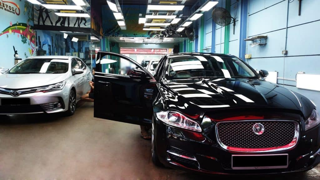 Renowned ZeTough Paint Protection Treatment At Toh Guan