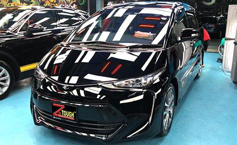 Toyota Estima with Ceramic Paint Protection