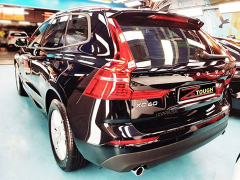 Volvo XC90 with Ceramic Coating completed