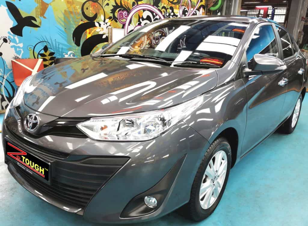 Ravishing Toyota Vios After Premium Ceramic Paint Protection