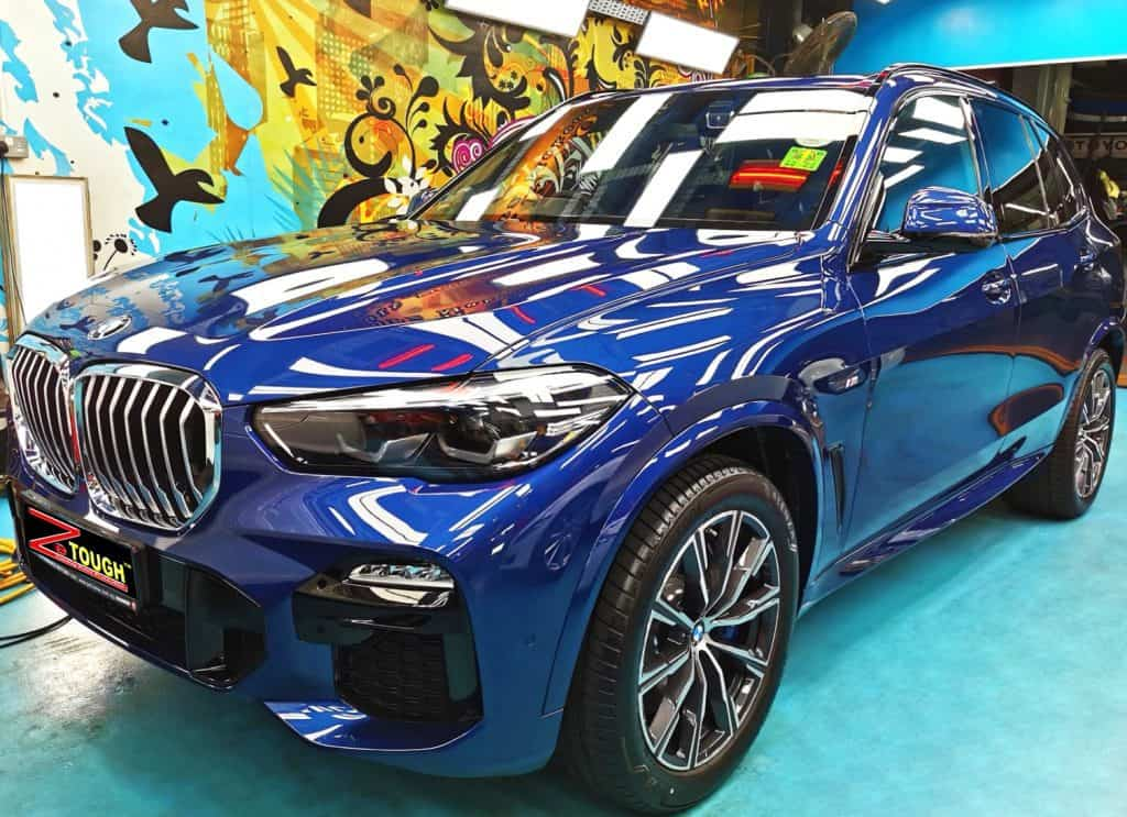 BMW X5 Looks Brand-new in ZeTough Ceramic Paint Protection