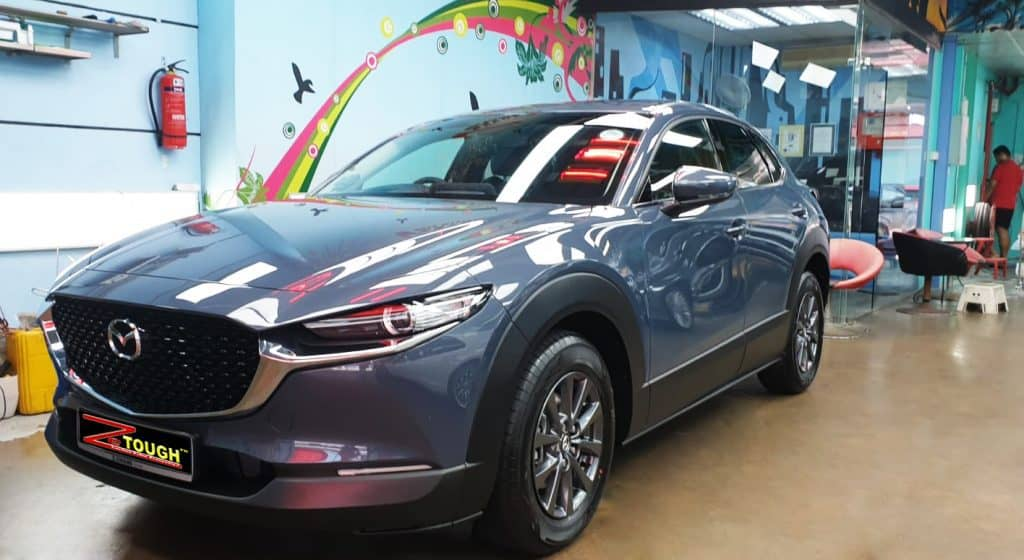 Mazda CX-30: Protected brilliant gloss with ZeTough Titanium